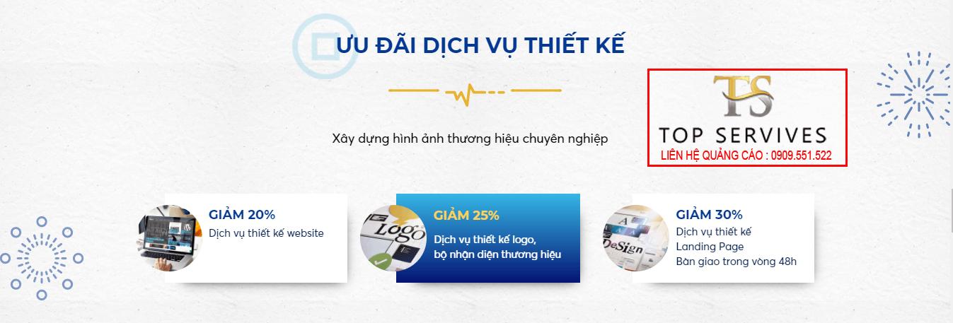 Marketing tổng thể- Ưu đãi thiết kế của Trust In Viet