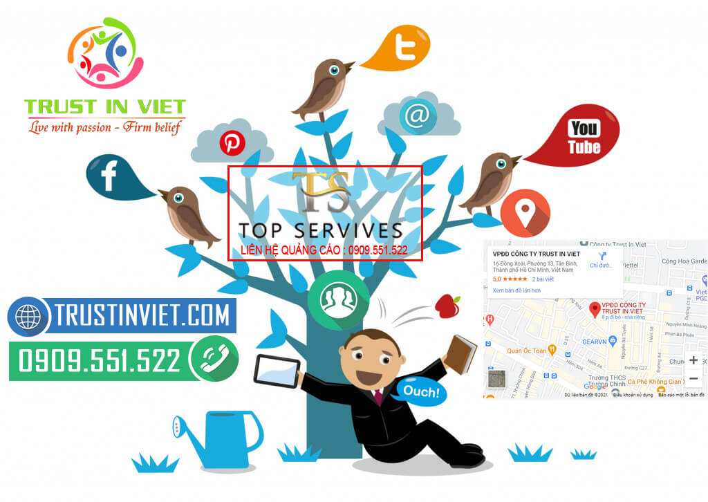 Marketing online tổng thể - Phủ trên các kênh